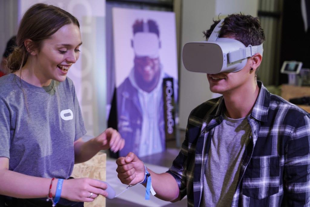 Oculus brand ambassador Rebecca